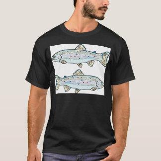 Rainbow Trout Sketch T-Shirt