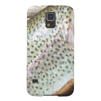 Rainbow trout skin cell phone galaxy s5 cover