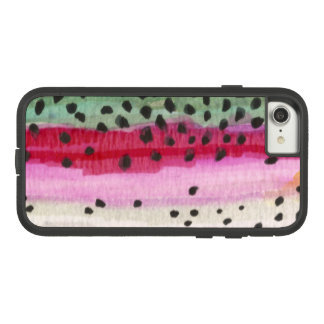 Rainbow Trout Skin Fishing Case-Mate Tough Extreme iPhone 8/7 Case