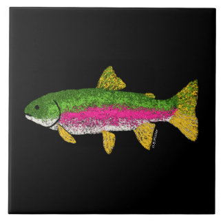 Rainbow Trout Tile
