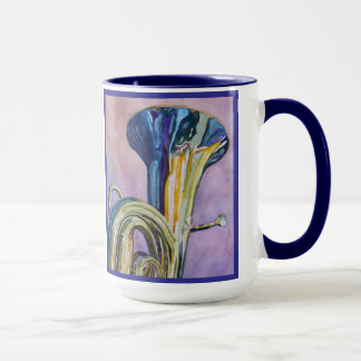 Rainbow Tuba Mug