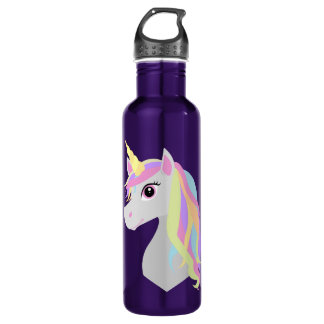 Rainbow Unicorn 710 Ml Water Bottle