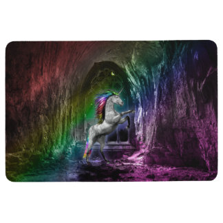 Rainbow Unicorn Floor Mat