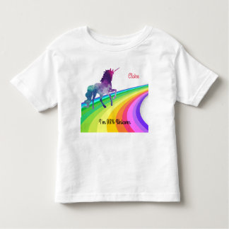 Rainbow Unicorn - Girl's T-shirt