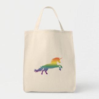 Rainbow Unicorn lgbt Tote Bag