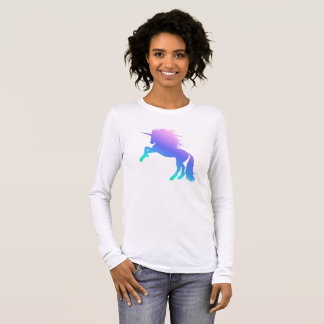 Rainbow Unicorn Long Sleeved T-Shirt