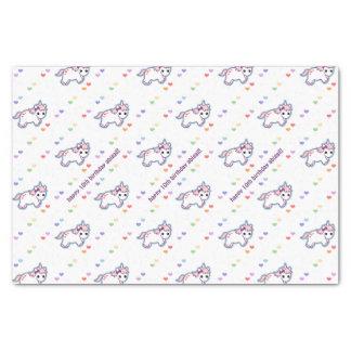 Rainbow Unicorn Party Tissue Paper