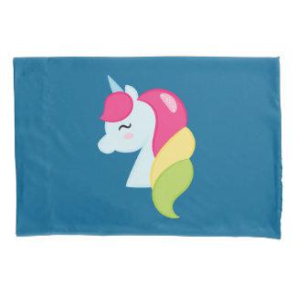 Rainbow Unicorn Pillowcase