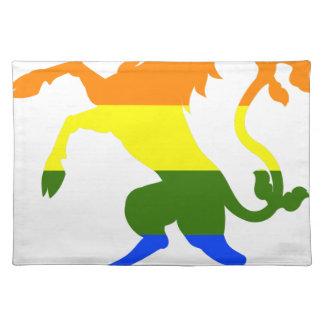 Rainbow Unicorn Placemat