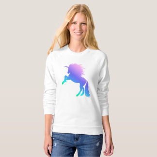 Rainbow Unicorn Raglan Sweatshirt