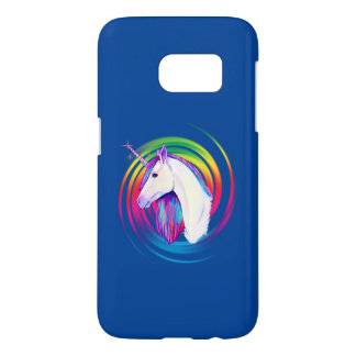 Rainbow Unicorn Samsung Galaxy S7 Case
