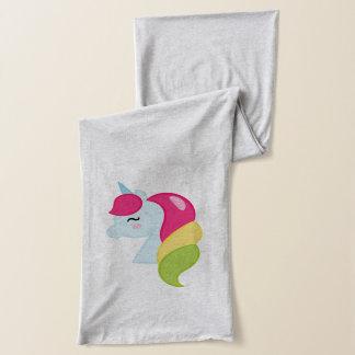 Rainbow Unicorn Scarf