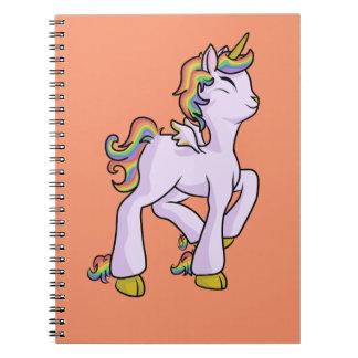 Rainbow Unicorn! Spiral Notebook