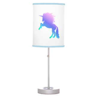Rainbow Unicorn Table Lamp