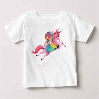 Rainbow Unicorn Too Too Yummy Shirt
