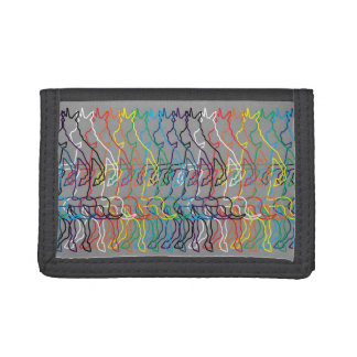 Rainbow Unicorn Tri-fold Wallets