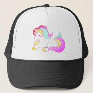 Rainbow Unicorn Trucker Hat