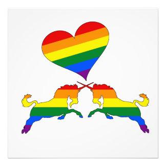 Rainbow Unicorns Photo Print