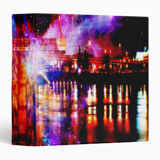 Rainbow Universe Bridge 3 Ring Binder