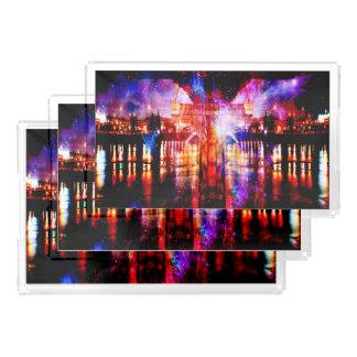 Rainbow Universe Bridge Acrylic Tray