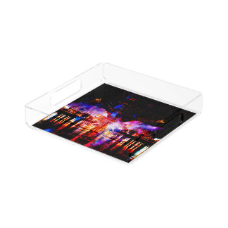 Rainbow Universe Bridge Serving Tray