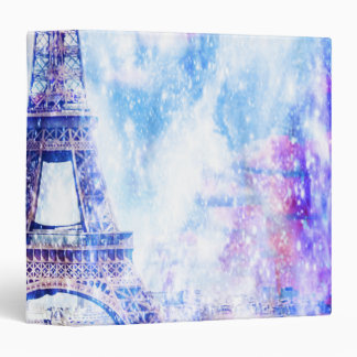 Rainbow Universe Paris 3 Ring Binders