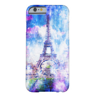 Rainbow Universe Paris Barely There iPhone 6 Case