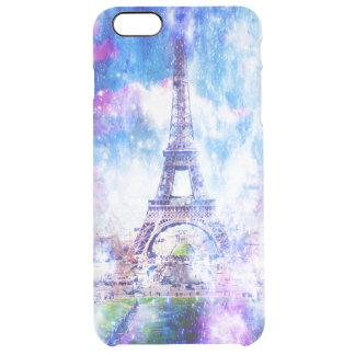 Rainbow Universe Paris Clear iPhone 6 Plus Case
