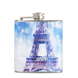 Rainbow Universe Paris Hip Flask