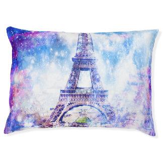 Rainbow Universe Paris Pet Bed