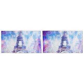 Rainbow Universe Paris Pillowcase