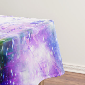Rainbow Universe Paris Tablecloth