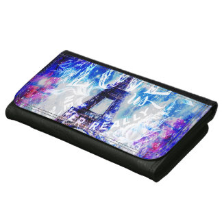 Rainbow Universe Paris The Ones that Love Us Leather Wallet For Women