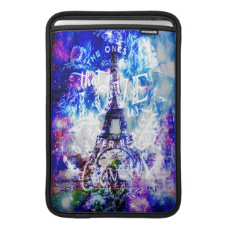 Rainbow Universe Paris The Ones that Love Us MacBook Sleeve