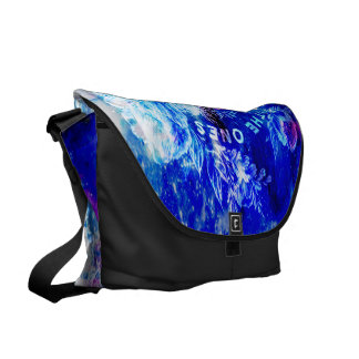 Rainbow Universe Paris The Ones that Love Us Messenger Bag