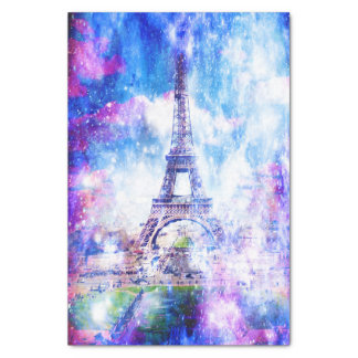 Rainbow Universe Paris Tissue Paper