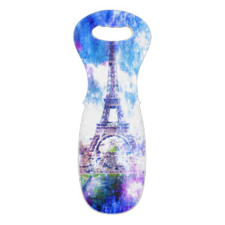 Rainbow Universe Paris Wine Bag