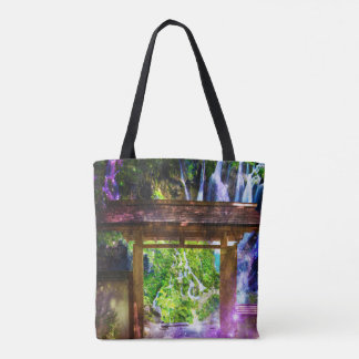 Rainbow Universe's Pathway to Paradise Tote Bag
