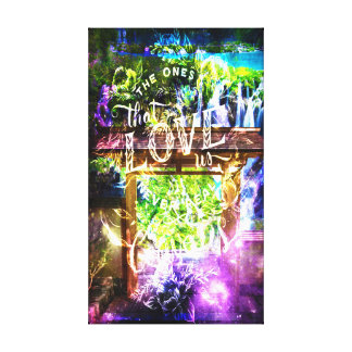 Rainbow Universe's Pathway to the Ones that Love Canvas Print