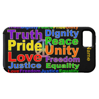 Rainbow Values iPhone 5 Case-Mate iPhone 5 Cover