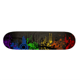 Rainbow Vector Skateboard Deck