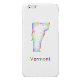 Rainbow Vermont map
