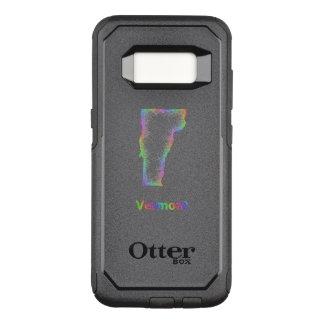 Rainbow Vermont map OtterBox Commuter Samsung Galaxy S8 Case