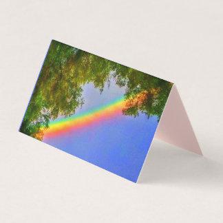 RAINBOW VERTICAL 2x3.5 MINI CARD