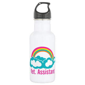 Rainbow Veterinary Assistant 532 Ml Water Bottle