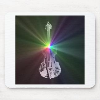 Rainbow Violin Mouse Pad