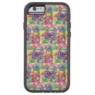 Rainbow Vortex Waterproof iphone case