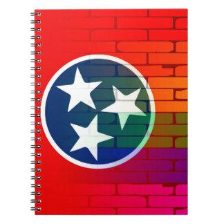 Rainbow Wall Tennessee Notebooks