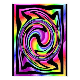Rainbow Warp Postcard