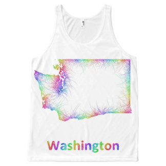 Rainbow Washington map